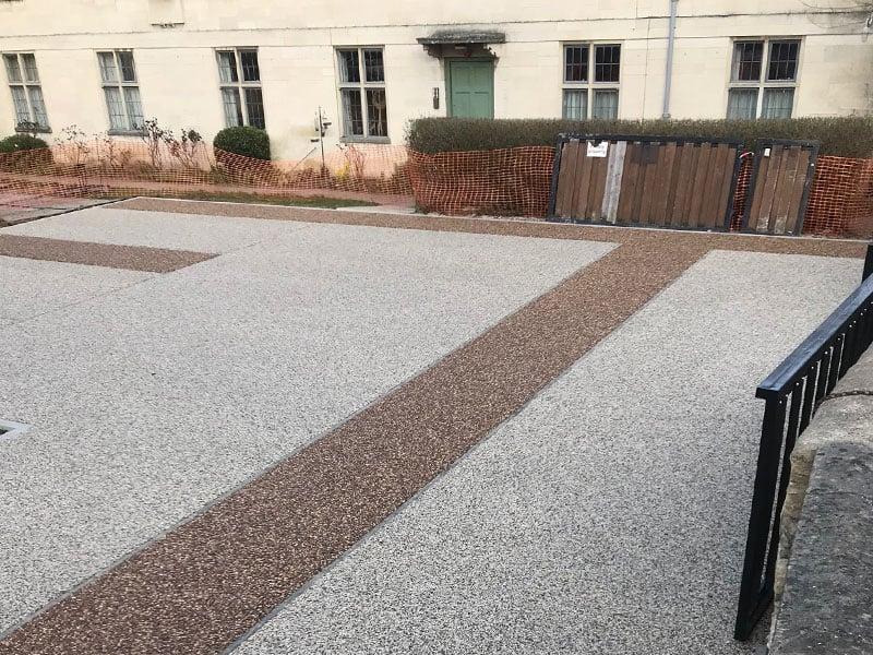Resin Bound Oxford Carpark